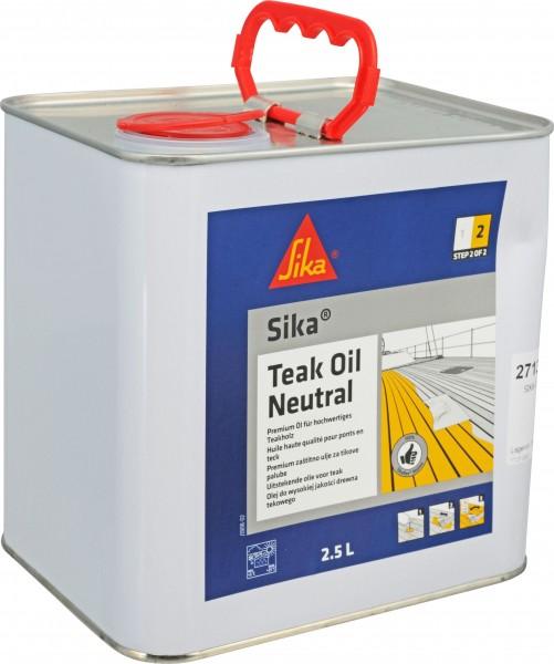 2713*10 SIKA Teak Oil Neutral Teakholzöl