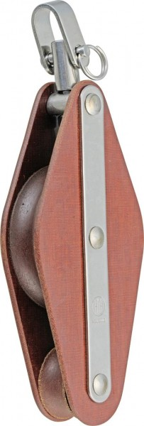 1133*01 HYE Tufnol-Violinblock mit Wirbel