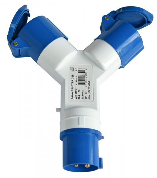 4671*16 Landanschluss Adapter CEE / 2 x CEE