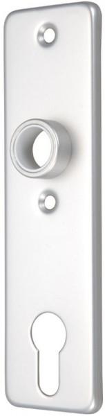 4073*15 Profilzylinder Türschild Edelstahl, einzeln
