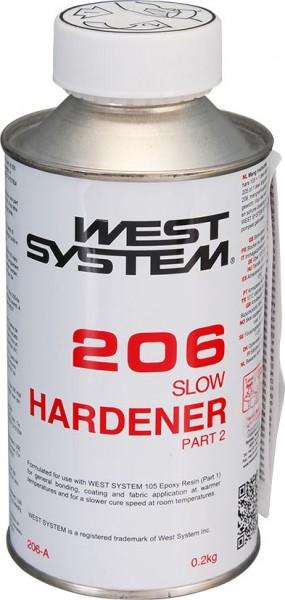 2722*01 WEST SYSTEM langsamer Härter Typ 206