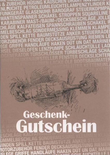 5001*01 TOPLICHT - Gutschein