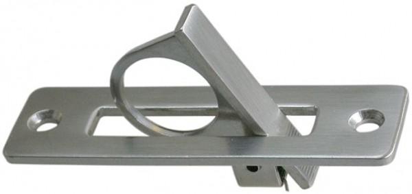 4543*03 Bodenheber mit Aufklapp-Ring Edelstahl