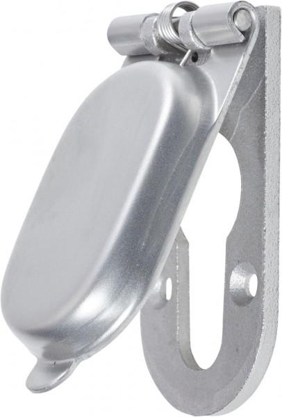 4073*17 Abdeckkappe für Türschild Edelstahl matt
