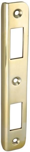 4070-020 Schließwinkel für Schiffs-Einsteckschlösser, Messing poliert