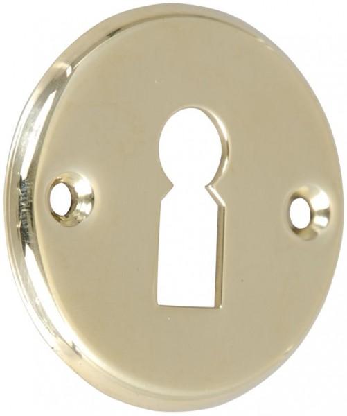 4073-022 Schlüsselschild für Yacht- und Schiffsschloss, Messing poliert