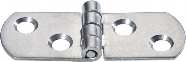 4439*01 A2-Scharnier 25+25/19mm Edelstahl flach