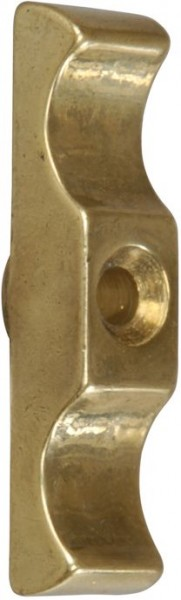 4802*01 Vorreiber Messing ohne Platte