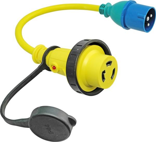 4671*08 Landanschluss Adapter CEE / NEMA L6