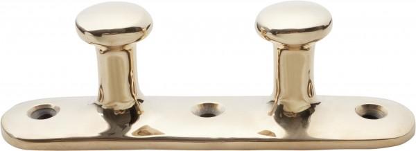 1674*01 Doppelpoller Knopfpoller DAVEY Bronze