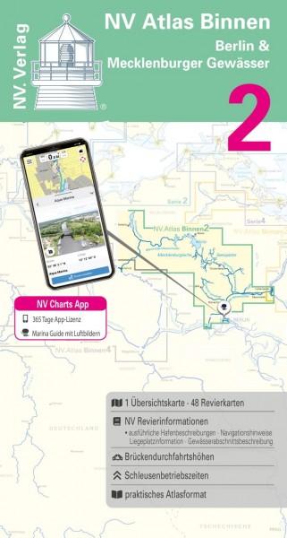 9026-002 NV Atlas Binnen, Berlin & Mecklenburger Gewässer