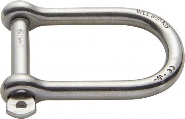 1551*01 Edelstahl-Schäkel WICHARD extra breit