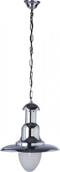 4533-501 Cr-FISHERMAN-Hängeleuchte klein Mattglas Chrom